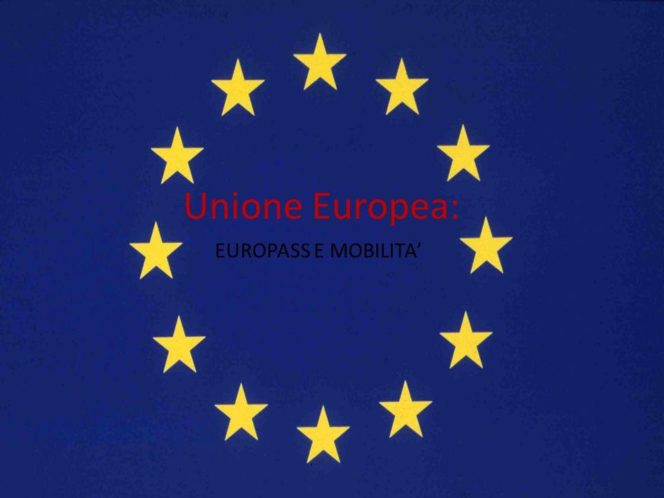 Unione Europea: EUROPASS E MOBILITA'