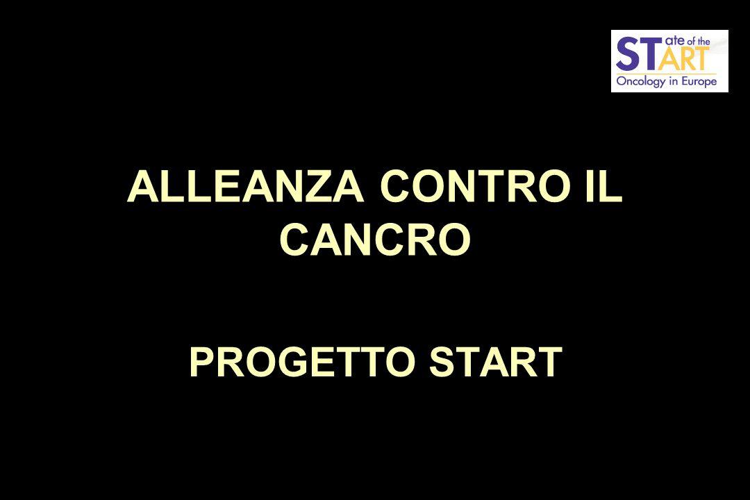 ALLEANZA CONTRO IL CANCRO PROGETTO START