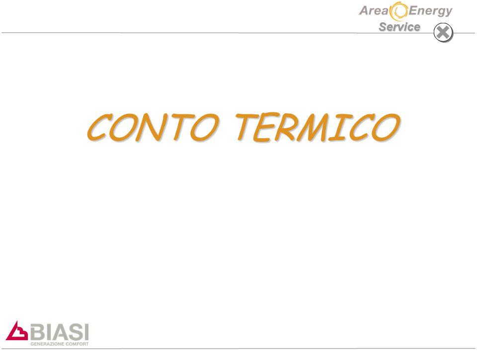 Service CONTO TERMICO CONTO TERMICO
