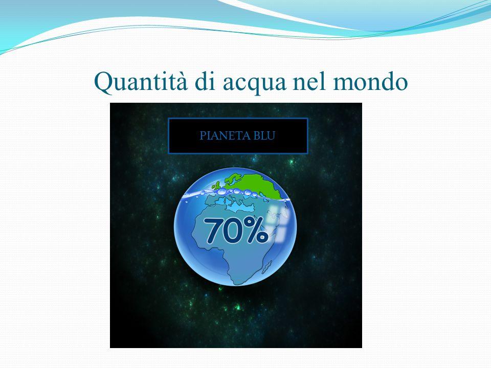 Purtroppo in Italia i dati non sono completi quindi risulta difficile avere un quadro sullo stato di salute della nostra acqua e poterli comparare con quelli europei.