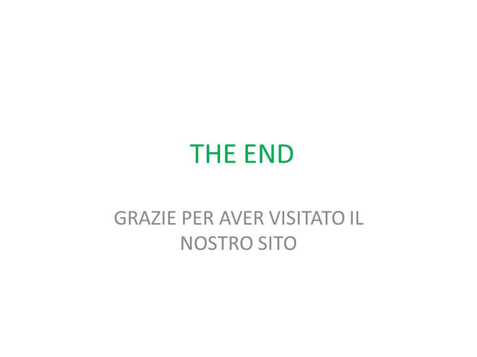 THE END GRAZIE PER AVER VISITATO IL NOSTRO SITO