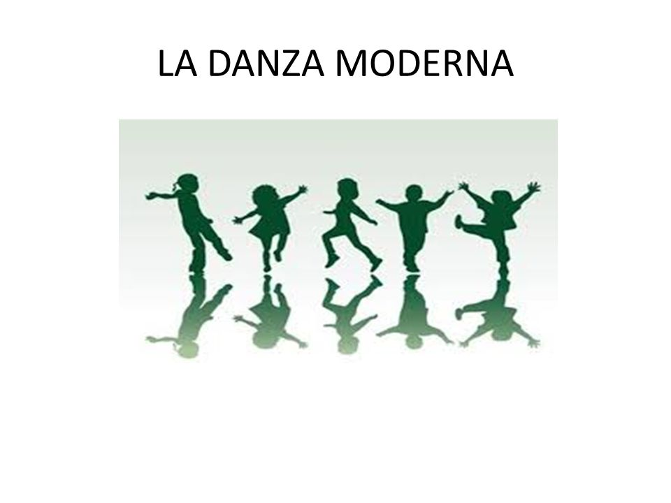 LA DANZA MODERNA