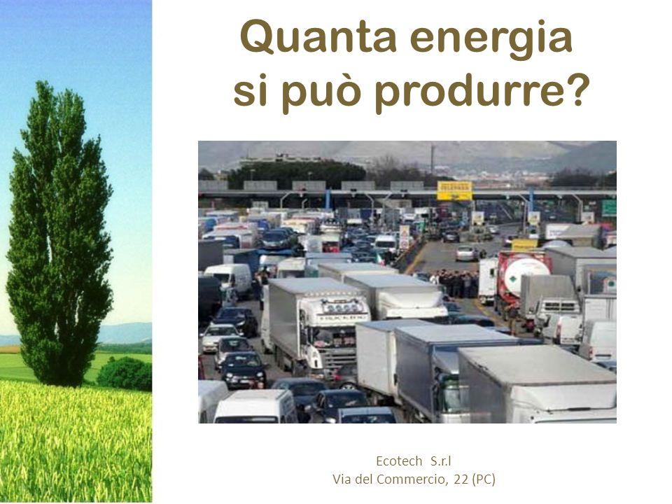 Quanta energia si può produrre Ecotech S.r.l Via del Commercio, 22 (PC)