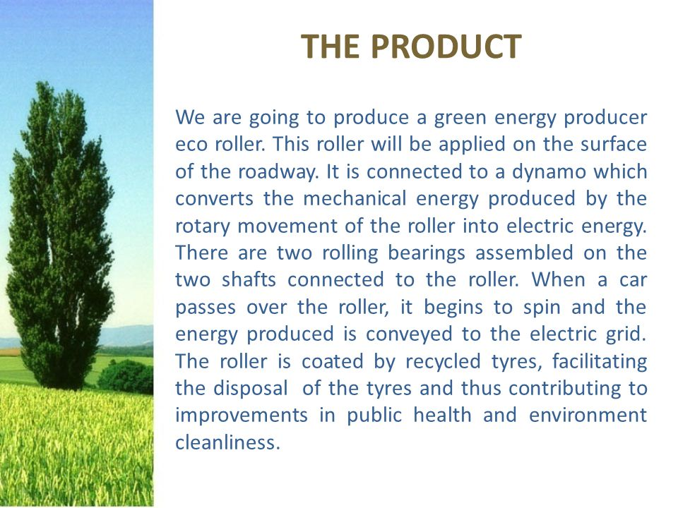 Ecotech S.r.l Via del Commercio, 22 (PC) PERCHE' ACQUISTARLO?