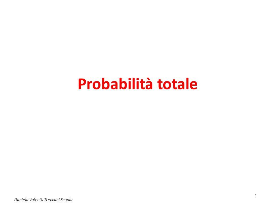 Probabilità totale Daniela Valenti, Treccani Scuola 1