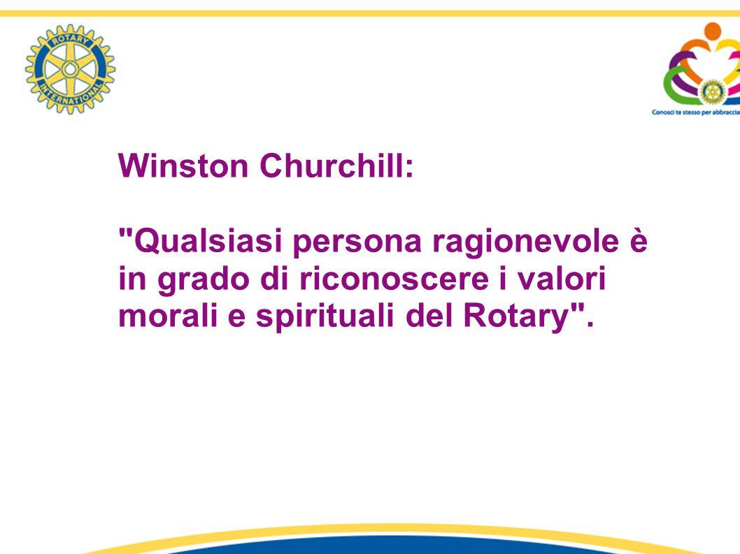 1° Seminario «Identità e Comunicazione Rotariana» - R.C. Latina – Distretto 2080 relatore: Fiorella Ricciardi Winston Churchill: