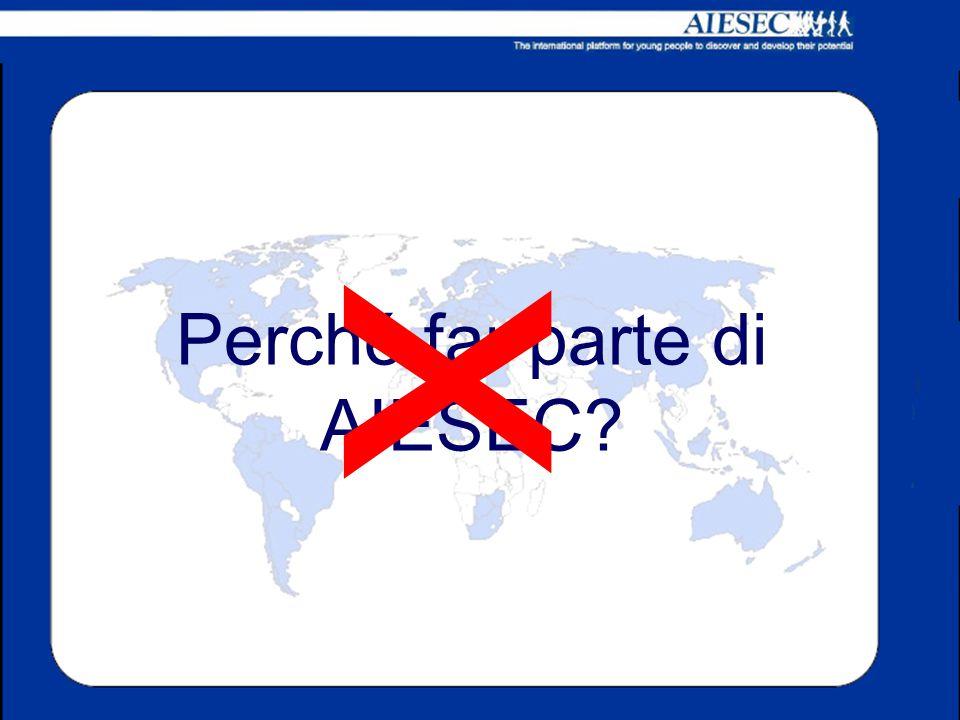 Perché far parte di AIESEC? x