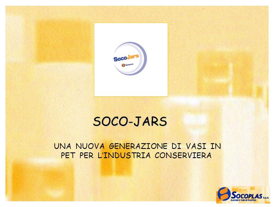 1 UNA NUOVA GENERAZIONE DI VASI IN PET PER L'INDUSTRIA CONSERVIERA SOCO-JARS