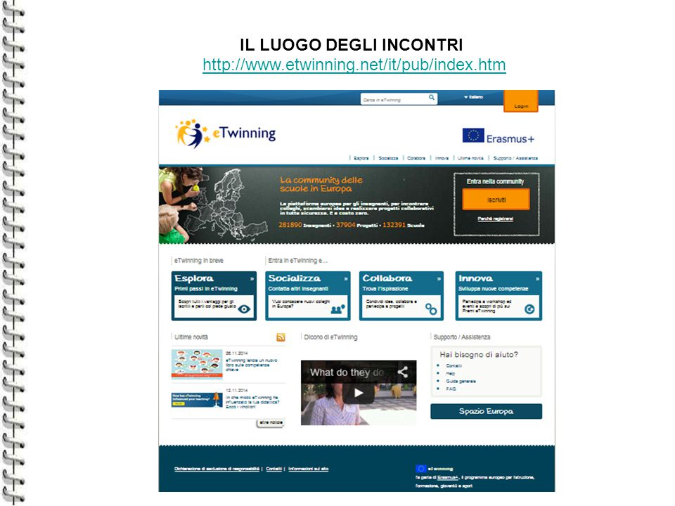 eTwinning ed Erasmus+