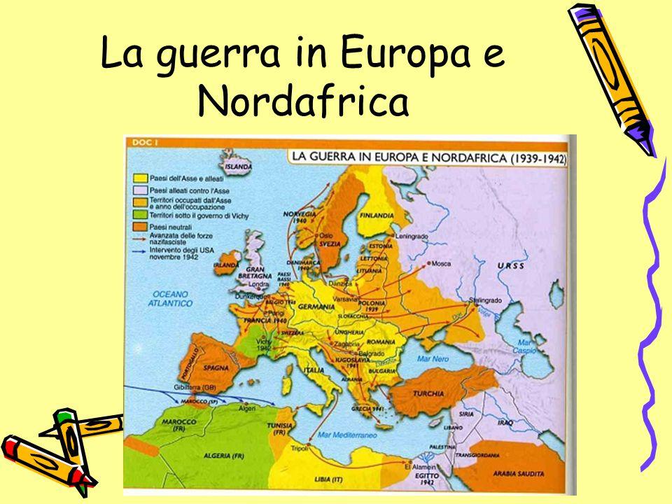 La guerra in Europa e Nordafrica