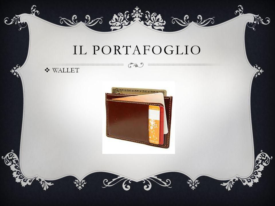 IL PORTAFOGLIO  WALLET