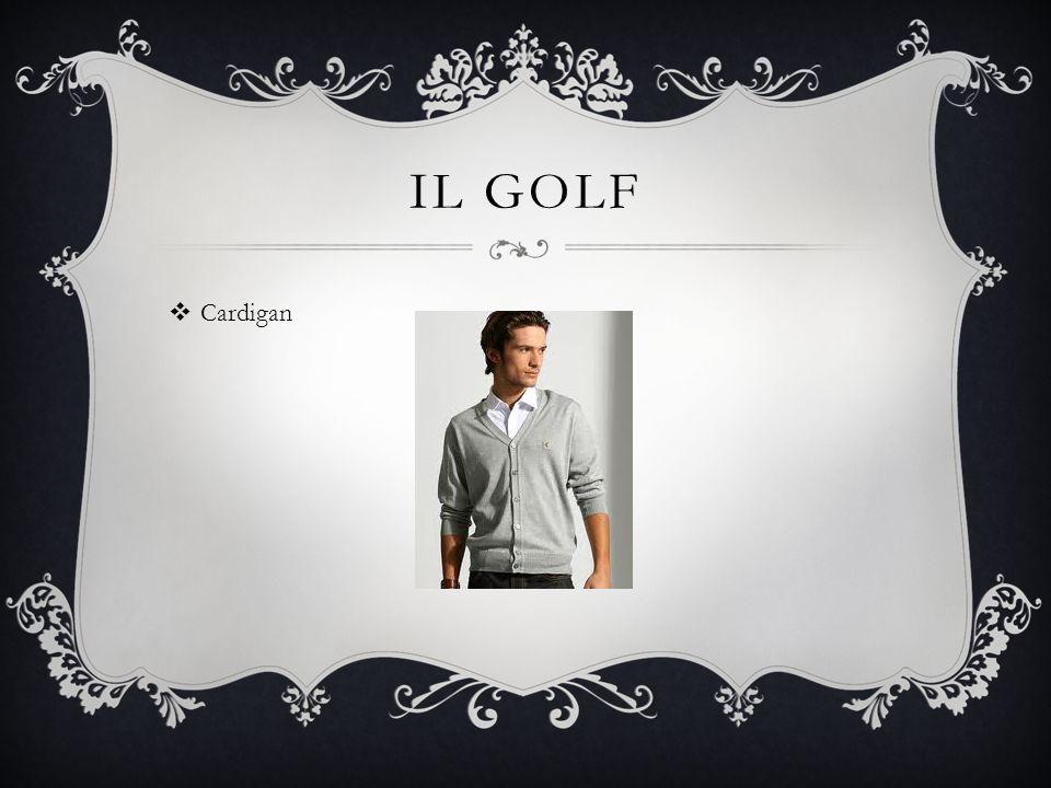 LA CAMICIA  Button-down shirt (fancier)