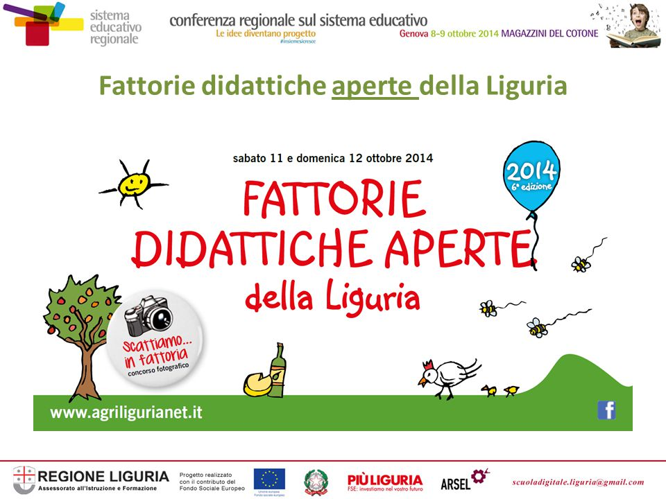 Fattorie didattiche aperte della Liguria