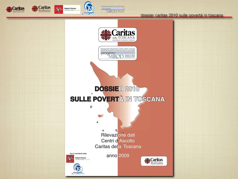 dossier caritas 2010 sulle povertà in toscana 1