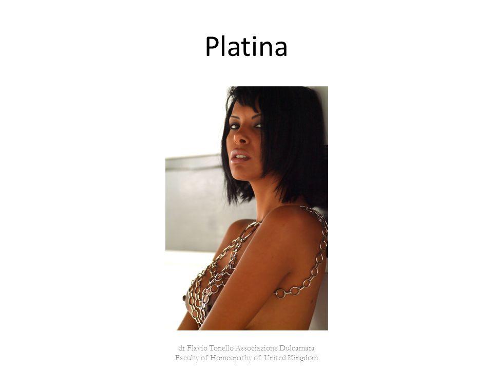Platina dr Flavio Tonello Associazione Dulcamara Faculty of Homeopathy of United Kingdom