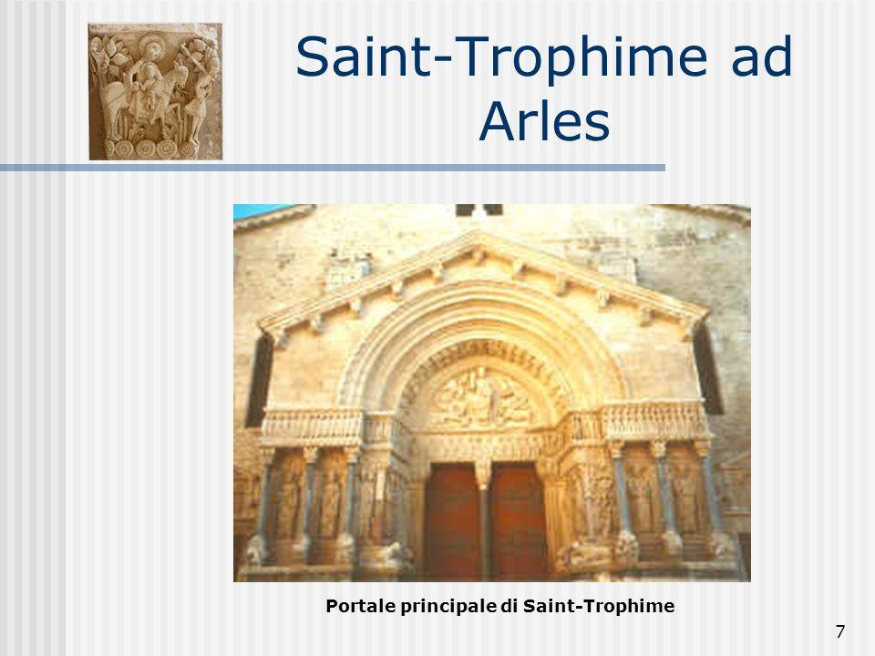 7 Saint-Trophime ad Arles Portale principale di Saint-Trophime