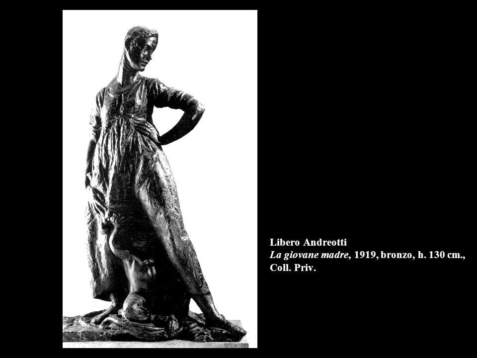 Libero Andreotti La giovane madre, 1919, bronzo, h. 130 cm., Coll. Priv.