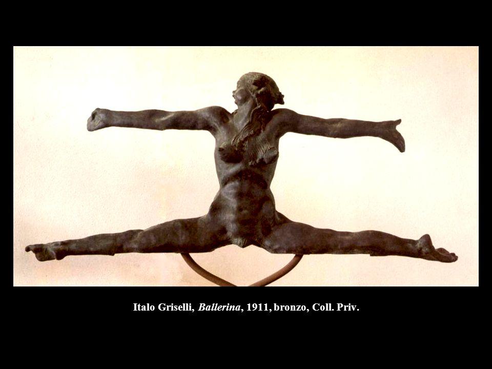 Italo Griselli, Ballerina, 1911, bronzo, Coll. Priv.