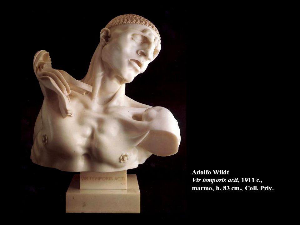 Adolfo Wildt Vir temporis acti, 1911 c., marmo, h. 83 cm., Coll. Priv.