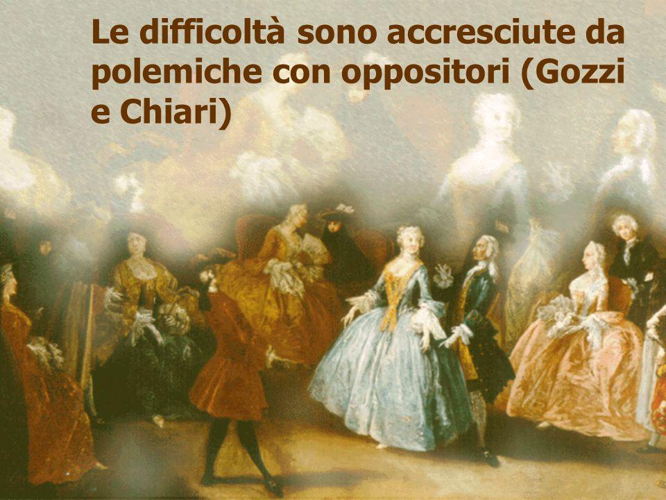 Le difficoltà sono accresciute da polemiche con oppositori (Gozzi e Chiari)