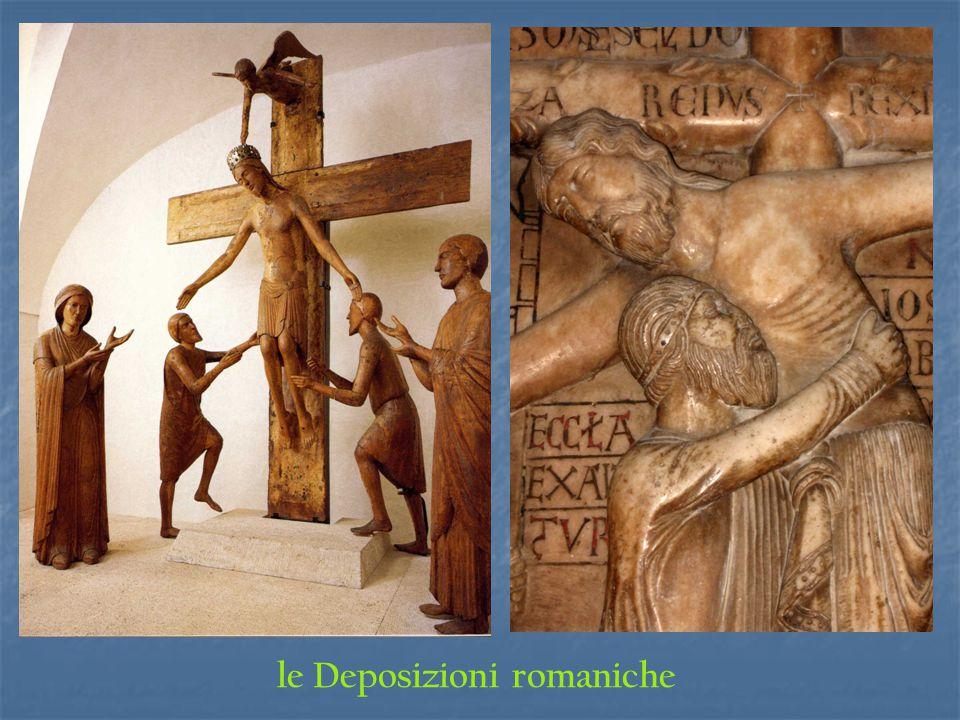 le Deposizioni romaniche