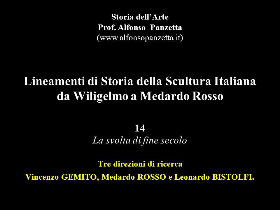 Vincenzo Gemito Alessandro Magno, terracotta, Roma, GNAM.