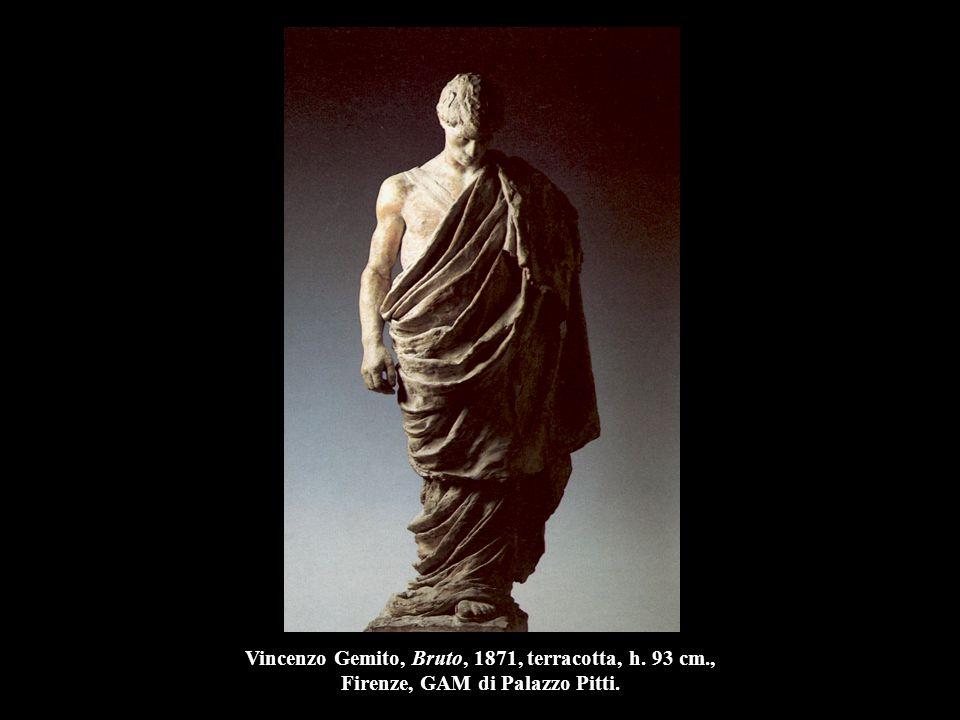 Leonardo Bistolfi, Il dolore confortato dalle memorie, 1898, gesso preparatorio per la tomba Durio nel Cimitero Monumentale di Torino, Casale Monferrato, Gipsoteca Bistolfi.