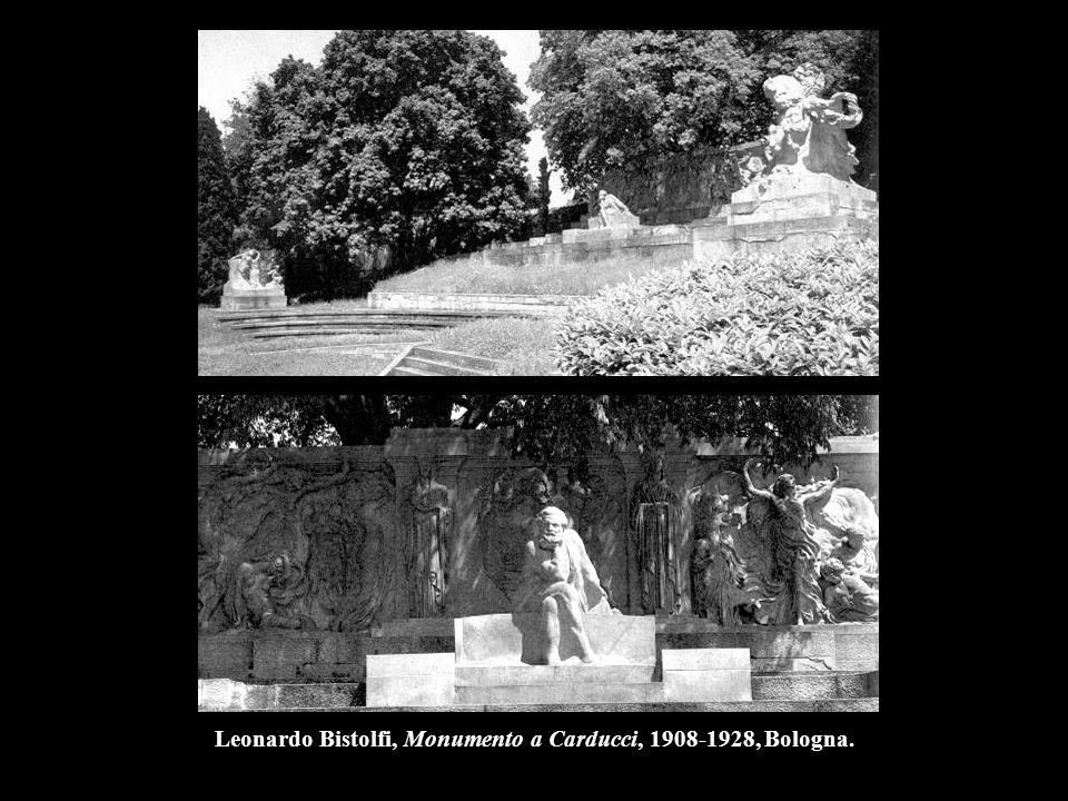 Leonardo Bistolfi, Monumento a Carducci, 1908-1928, Bologna.