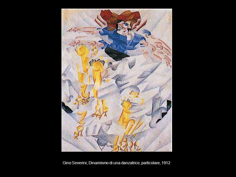Gino Severini, Dinamismo di una danzatrice, particolare, 1912