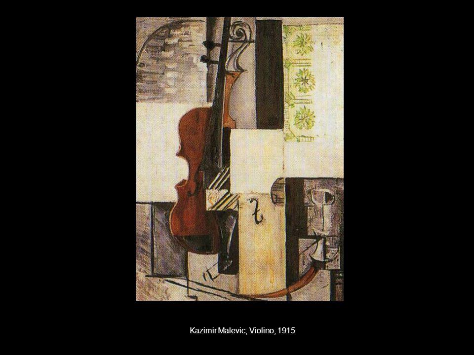 Kazimir Malevic, Violino, 1915