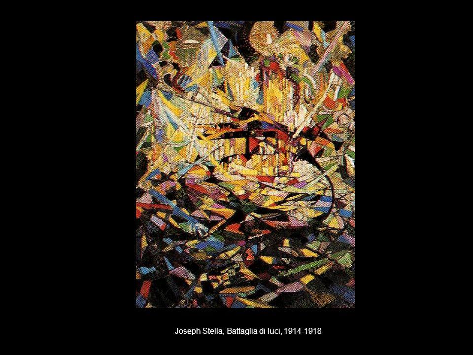 Joseph Stella, Battaglia di luci, 1914-1918