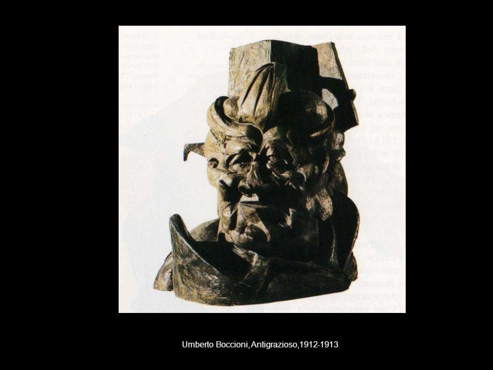 Umberto Boccioni, Antigrazioso,1912-1913