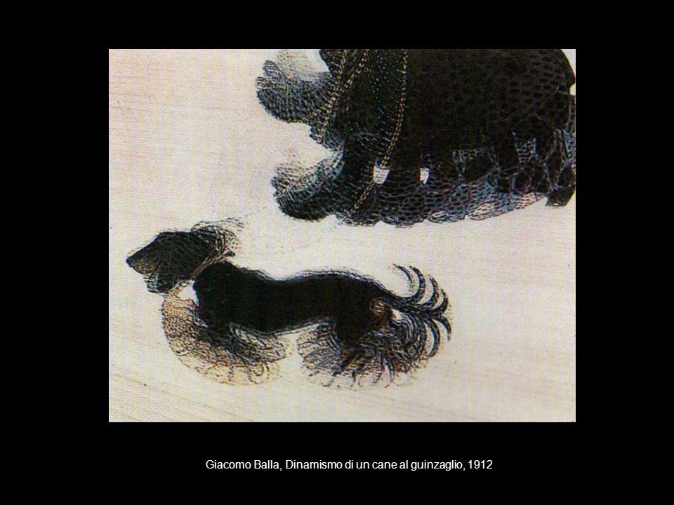Giacomo Balla, Dinamismo di un cane al guinzaglio, 1912