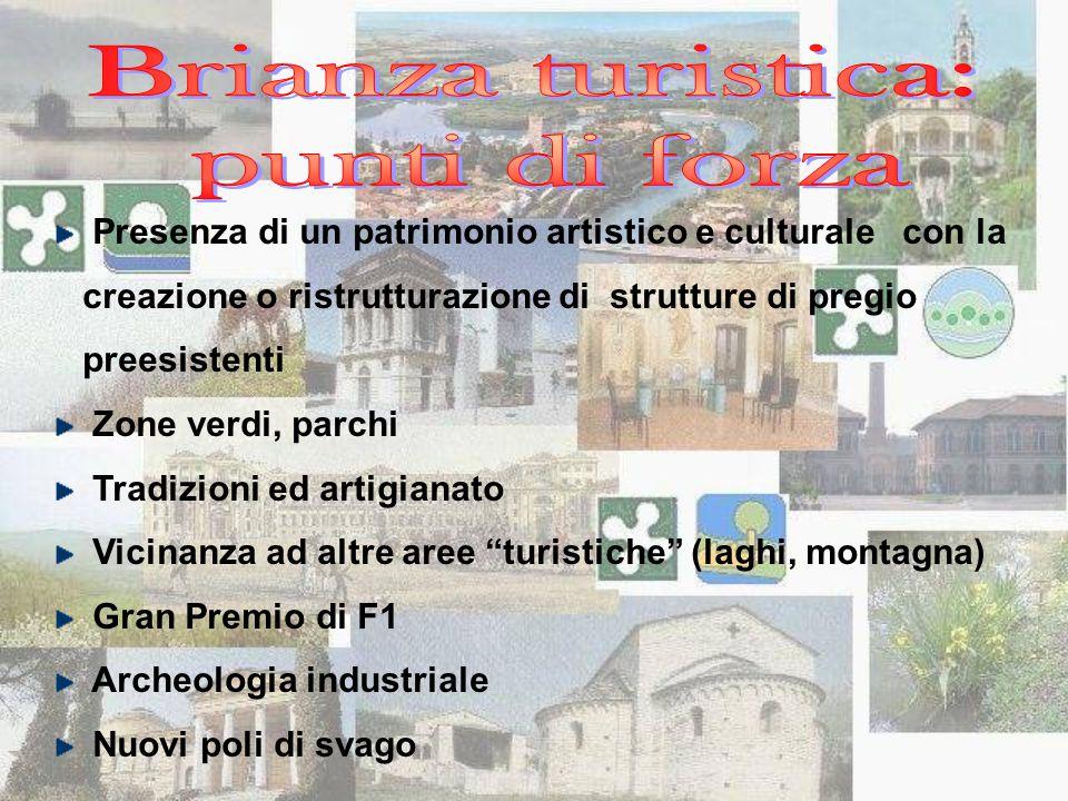 Presenza di un patrimonio artistico e culturale con la creazione o ristrutturazione di strutture di pregio preesistenti Zone verdi, parchi Tradizioni
