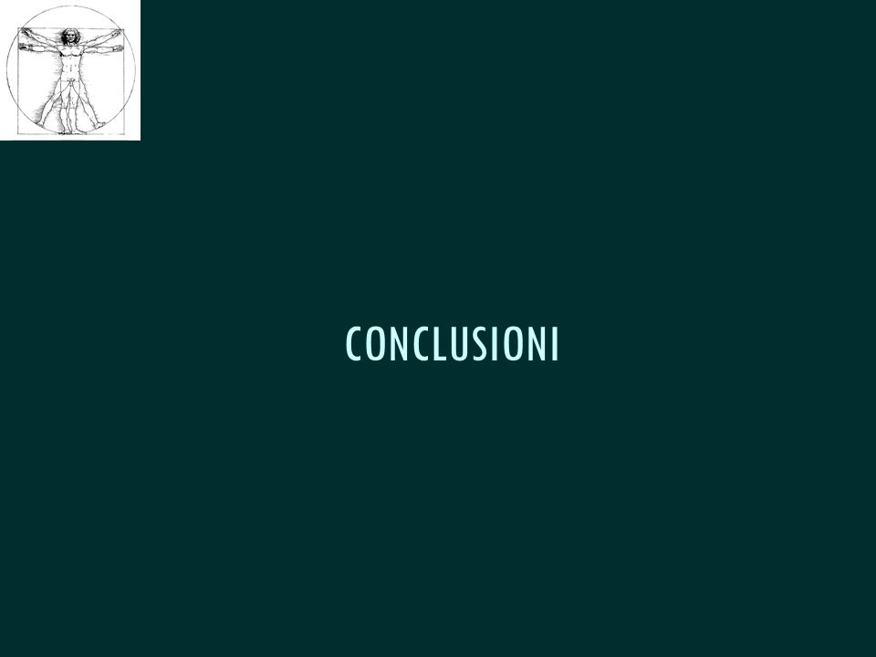 CSeRMEG CONCLUSIONI