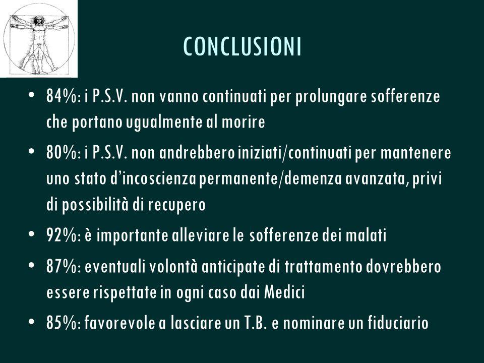 CSeRMEG CONCLUSIONI 84%: i P.S.V.