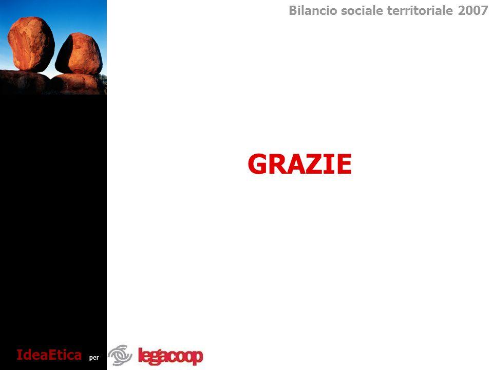Bilancio sociale territoriale 2007 IdeaEtica per GRAZIE