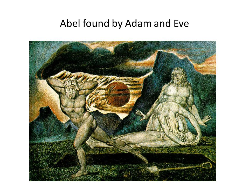 Abel found by Adam and Eve