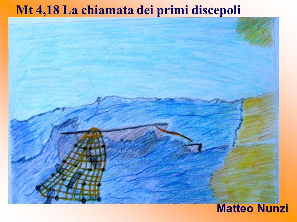 Mt 4,18 La chiamata dei primi discepoli Matteo Nunzi