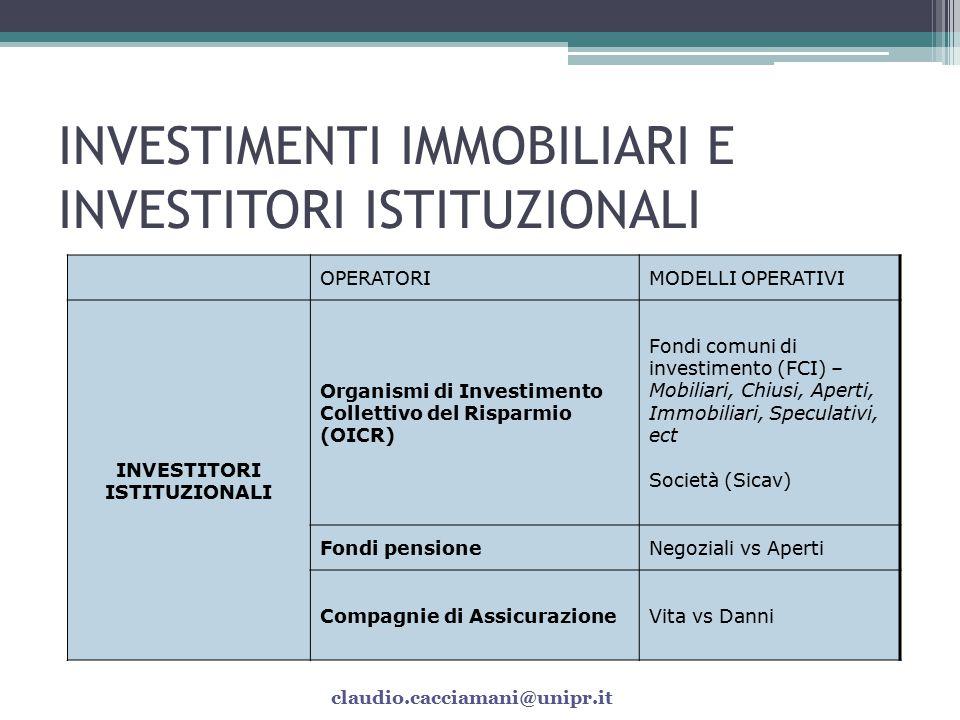 Fonte: Relazione annuale 2008 Banca d'Italia claudio.cacciamani@unipr.it