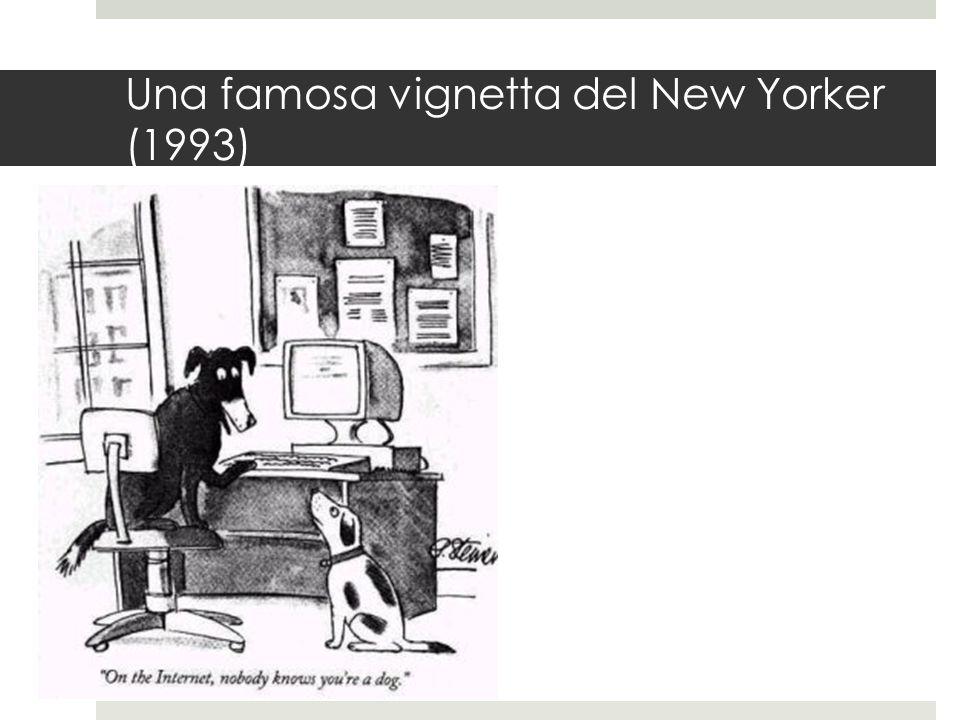 Una famosa vignetta del New Yorker (1993)