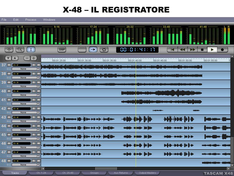 X-48 – IL REGISTRATORE