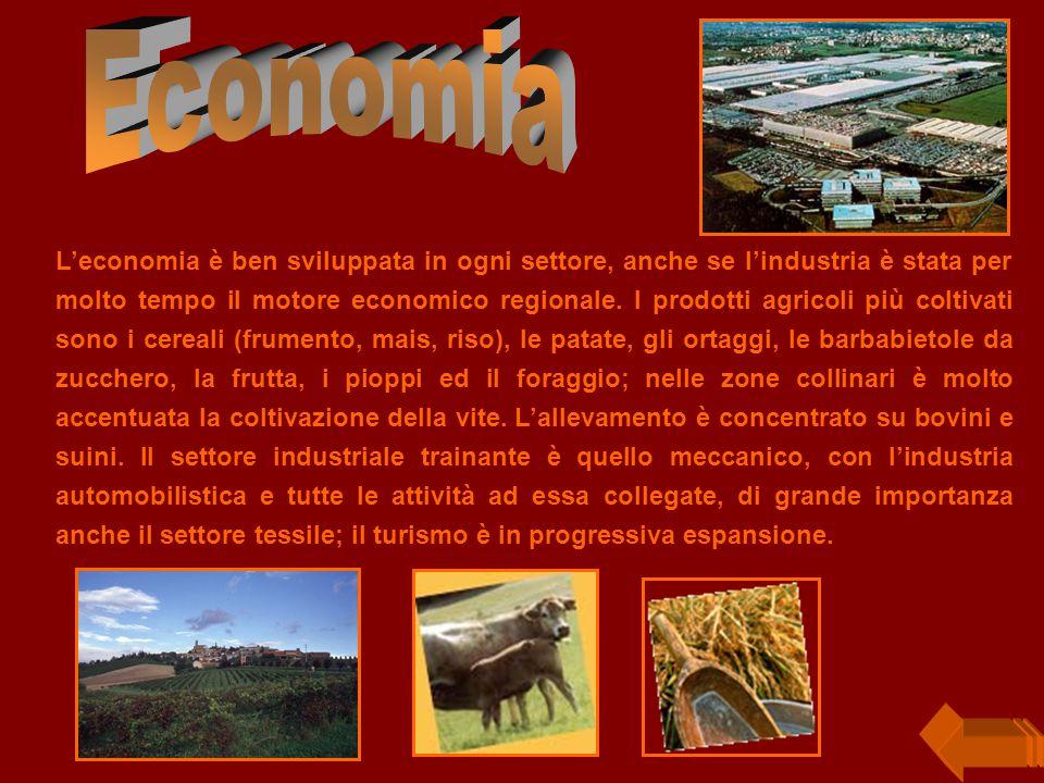 L'economia è ben sviluppata in ogni settore, anche se l'industria è stata per molto tempo il motore economico regionale.