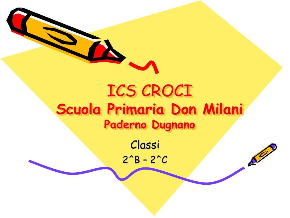 ICS CROCI Scuola Primaria Don Milani Paderno Dugnano Classi 2^B – 2^C