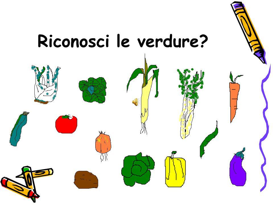 Riconosci le verdure?