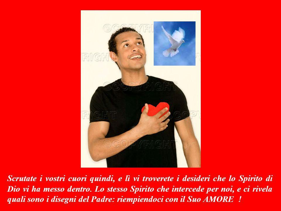 SECONDA LETTURA (dalla lettera di Paolo ai cristiani di Roma 8,26-27) Carissimi fratelli, non SPAZIENTITEVI: perchè lo Spirito Santo viene sempre in aiuto della nostra debolezza.