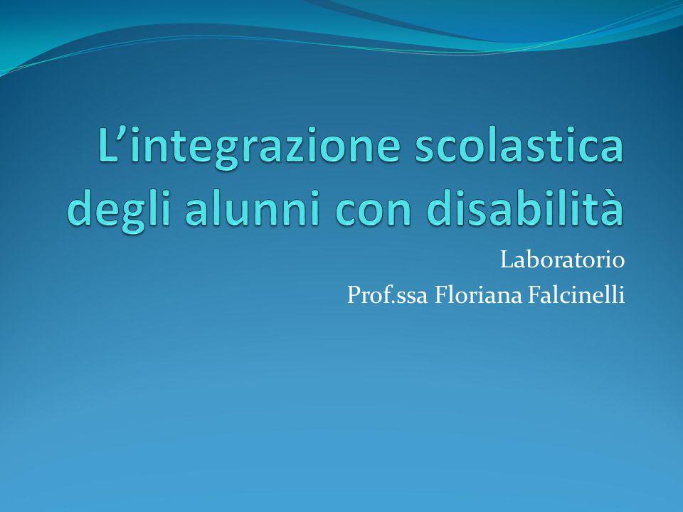 Laboratorio Prof.ssa Floriana Falcinelli