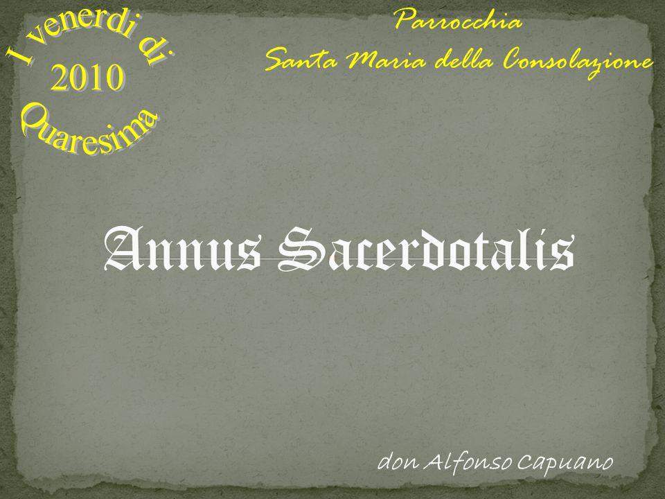 Parrocchia Santa Maria della Consolazione don Alfonso Capuano