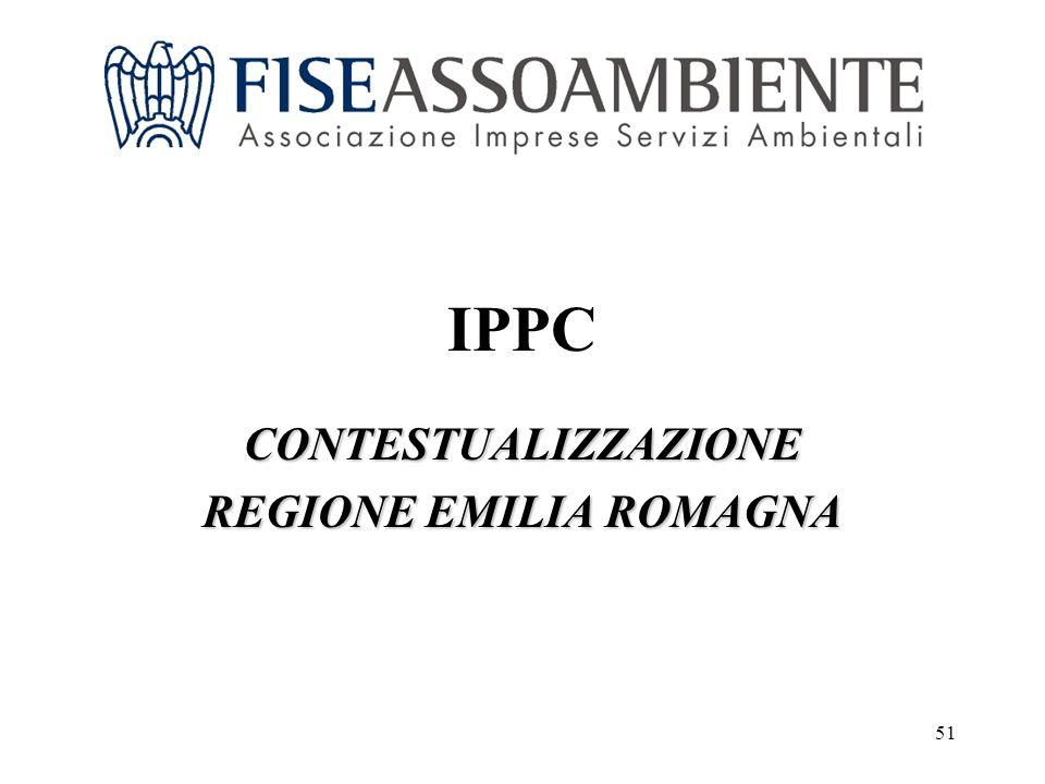 51 IPPC CONTESTUALIZZAZIONE REGIONE EMILIA ROMAGNA