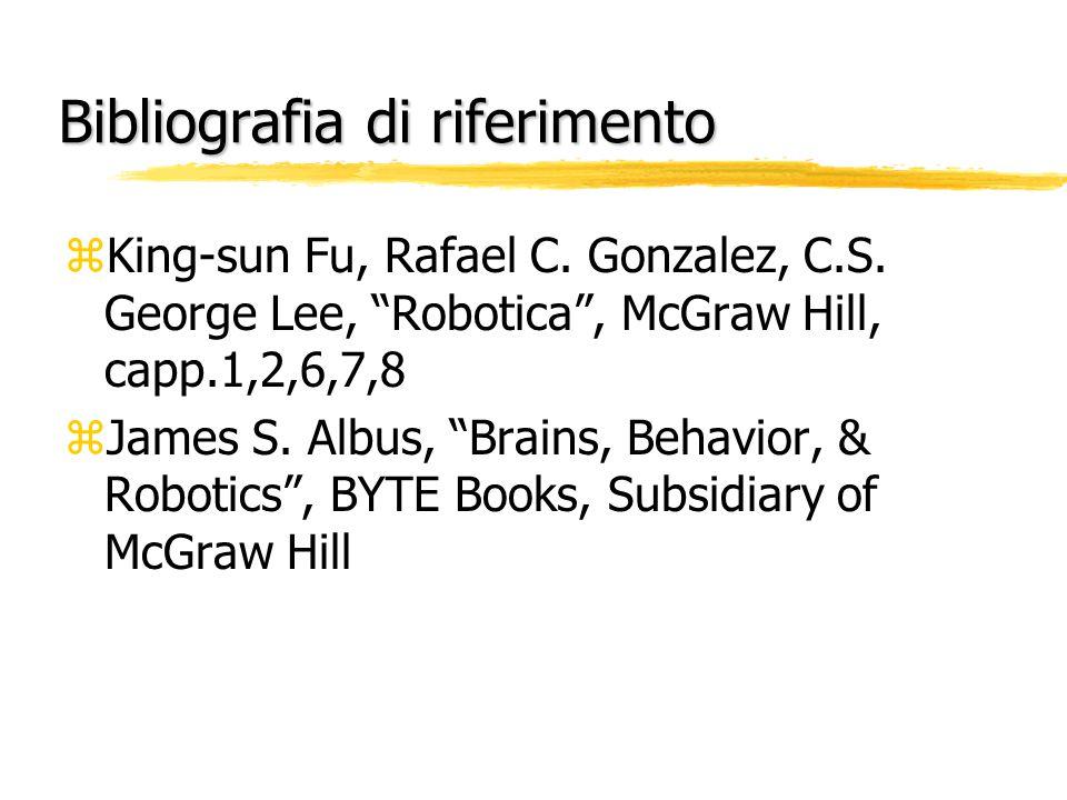 Letture di approfondimento  Stauttgard, Robotics and AI  D.